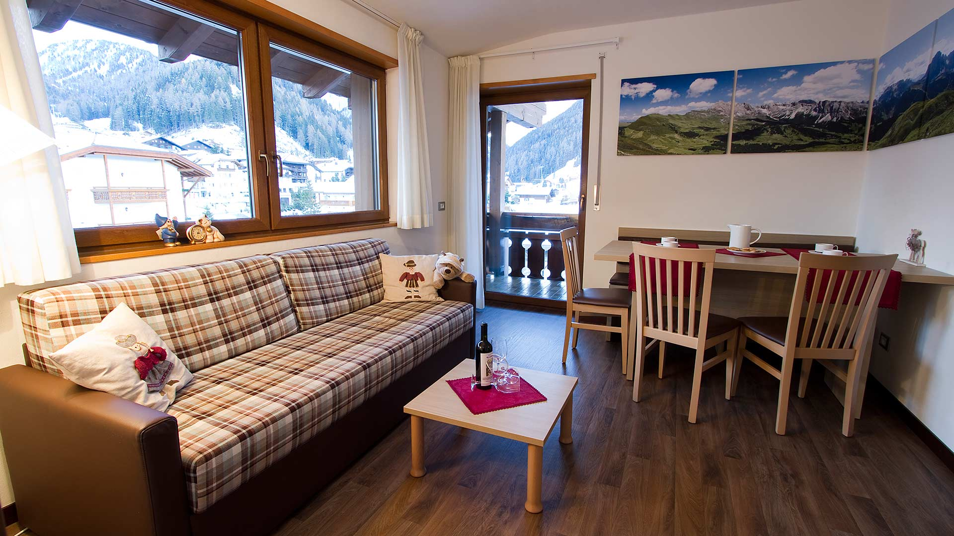 Appartamenti Ariola - Selva - Val Gardena - Dolomiti - Italia